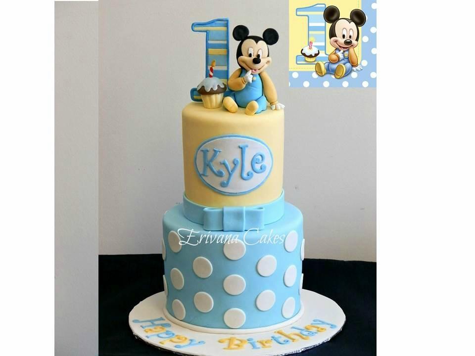 baby Micky Mouse Cake
