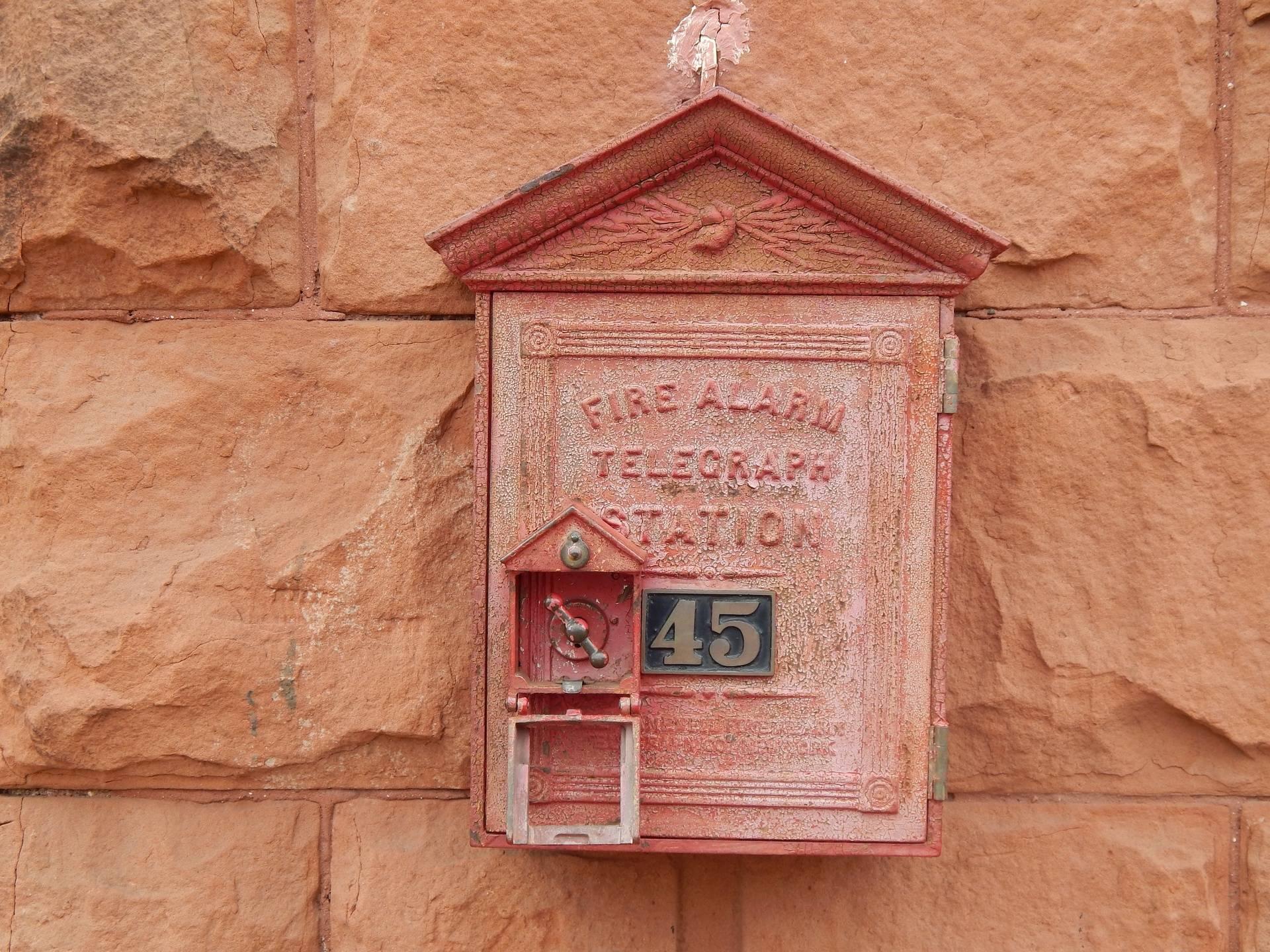 Fire Alarm Box # 45