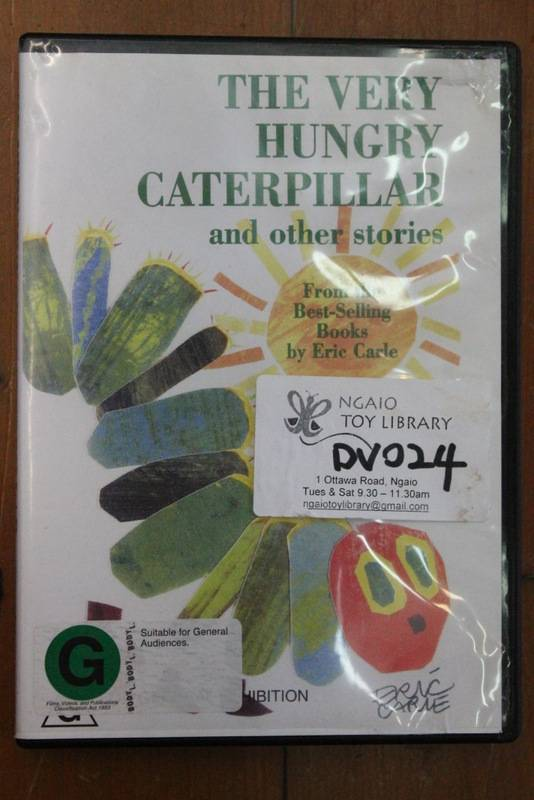 The very hungery caterpillar DVD