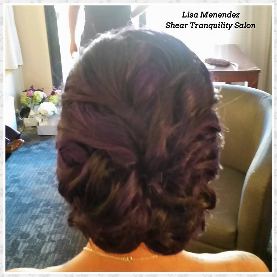 Bridesmaid Up Style
