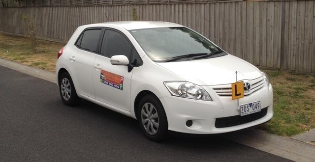 Driving School Bundoora - Toyota Corolla Hatch  - Automatic Transmission