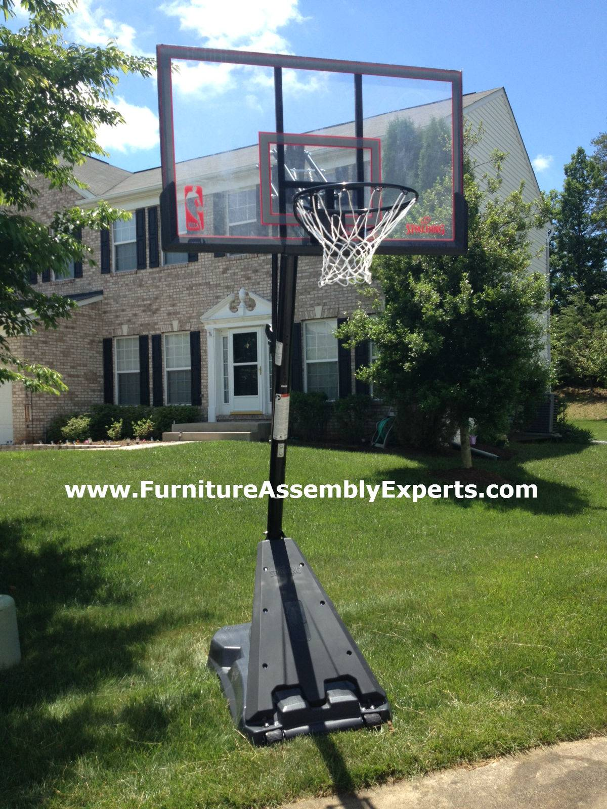 amazon portable basketball hoop assembly service in DC MD VA