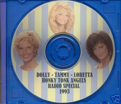 Honky Tonk Angles Radio Promo cd w/ tammy and Dolly