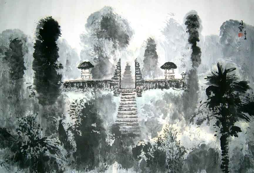 Temple Bali, 1997