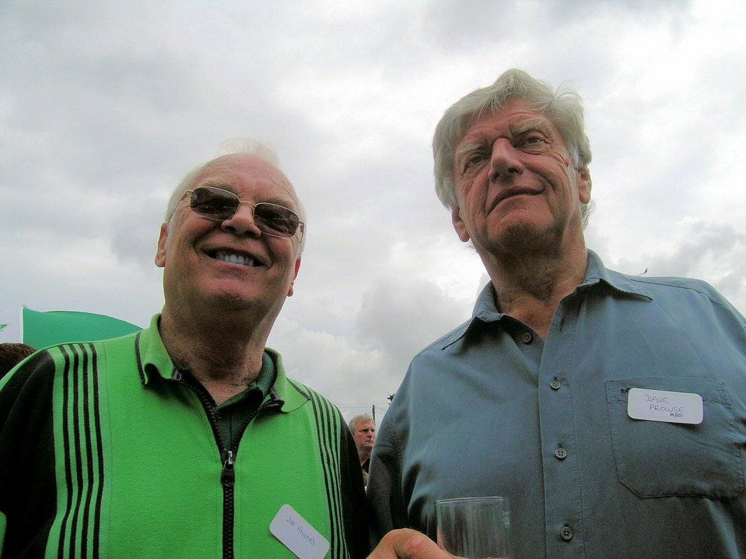 Jim Howard, Dave Prowse M.B.E.