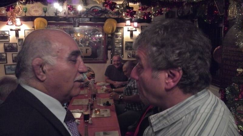 Tony Costas faces off Steve Grey
