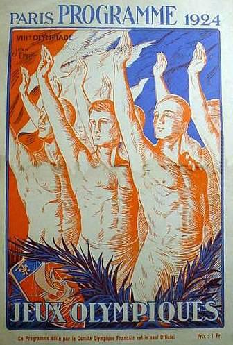 VIII Olympiad Program (1924)