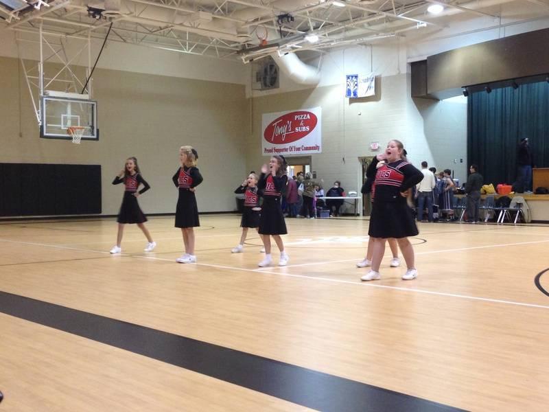 JV Falcon Cheerleaders