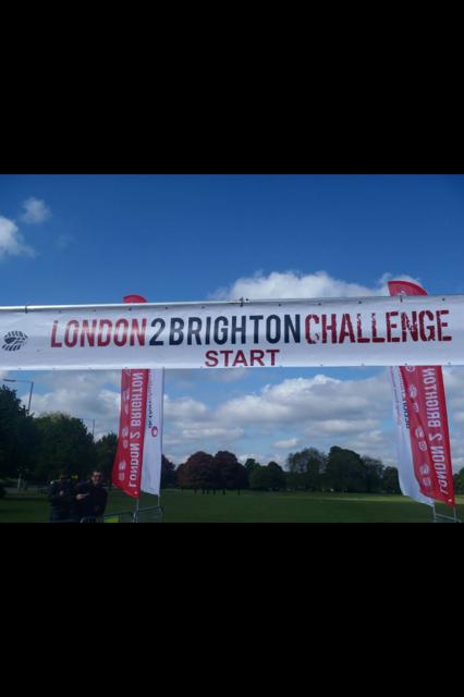 London to Brighton Start Line