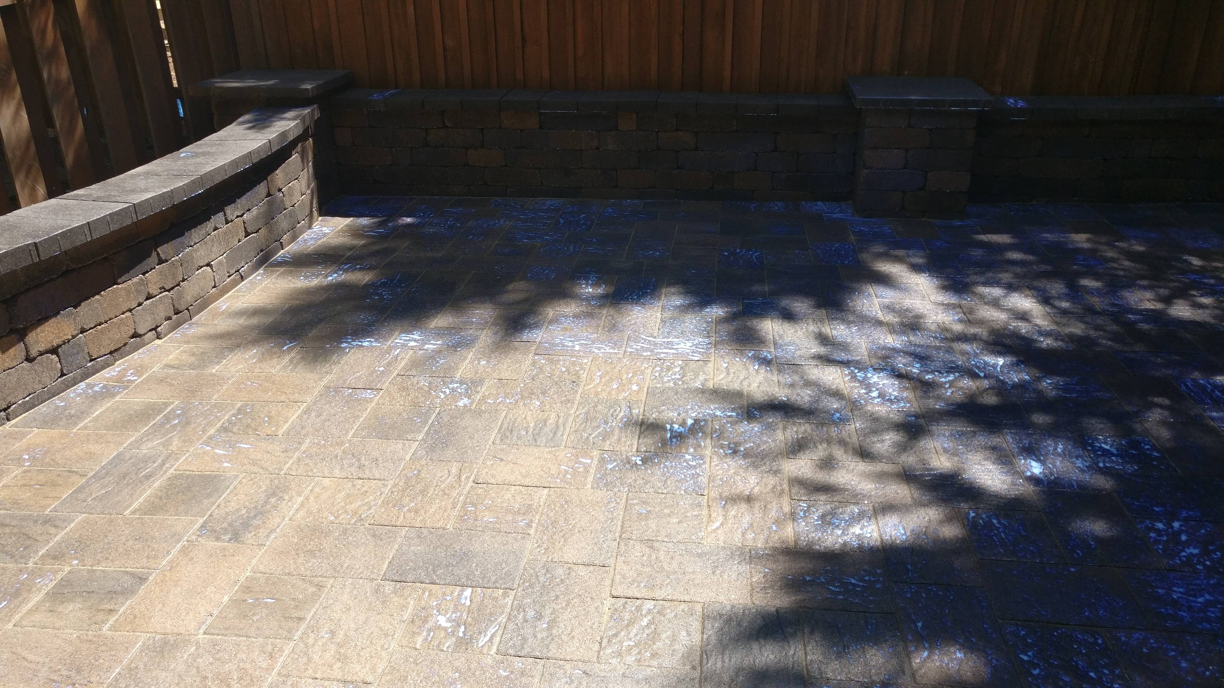 Hillsboro Oregon Granite Paver Patio
