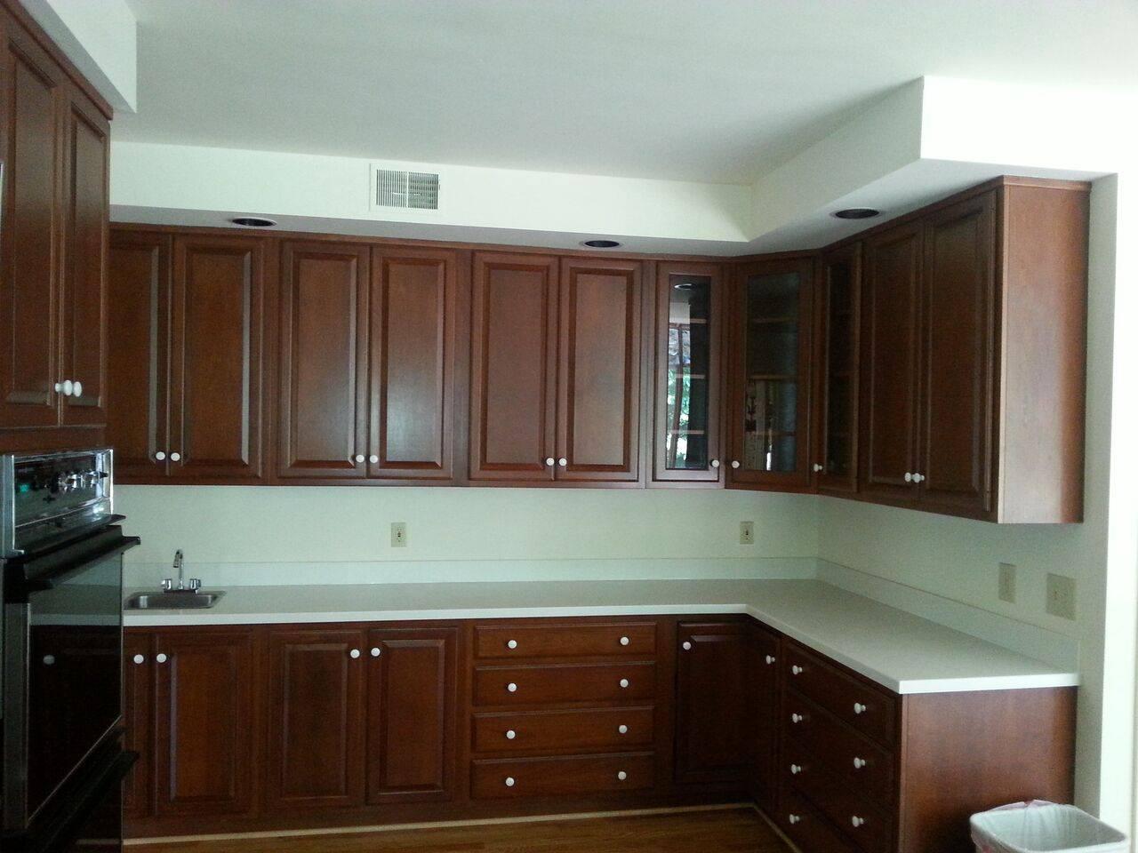 Modern Kitchen-Hazelnut cabinets