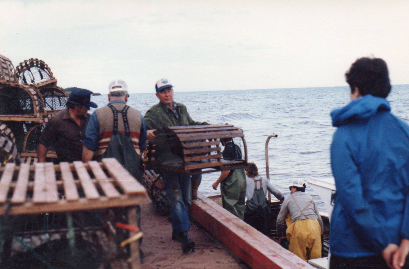 Lobster Fishing in the Cove