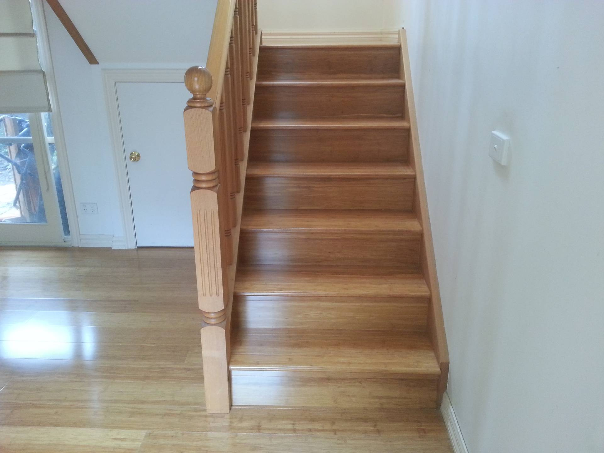 Sandy Bamboo staircase