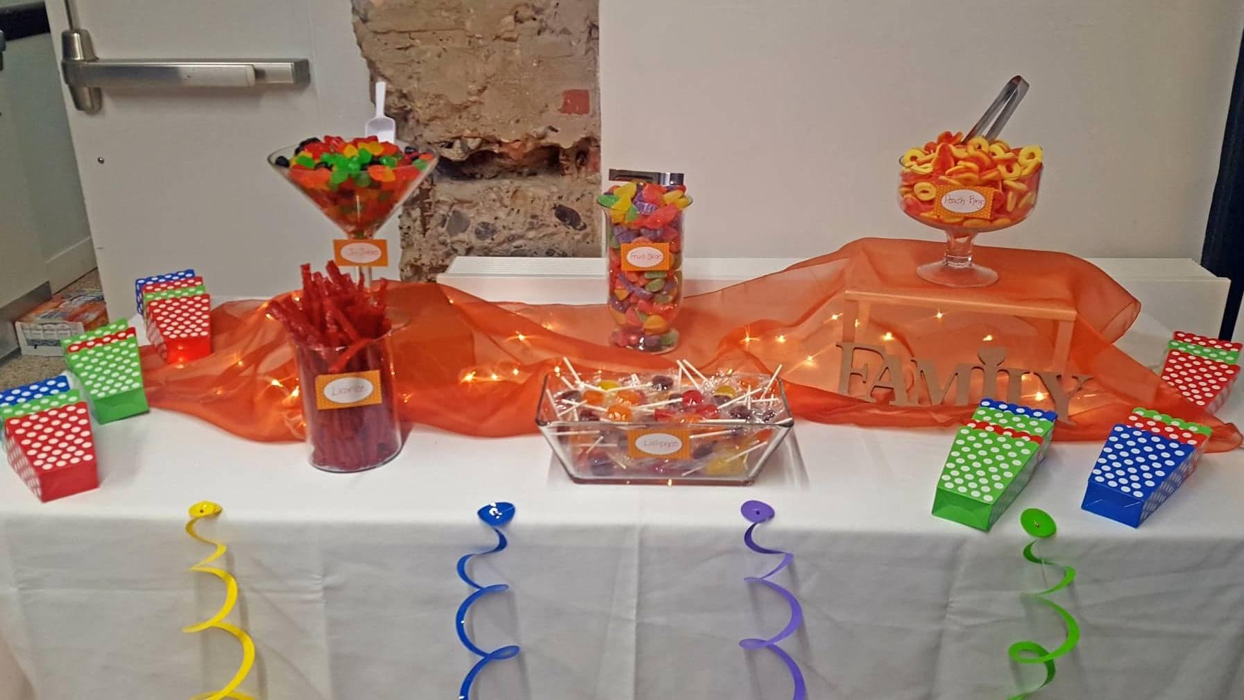 Candy Bar at Fundraiser