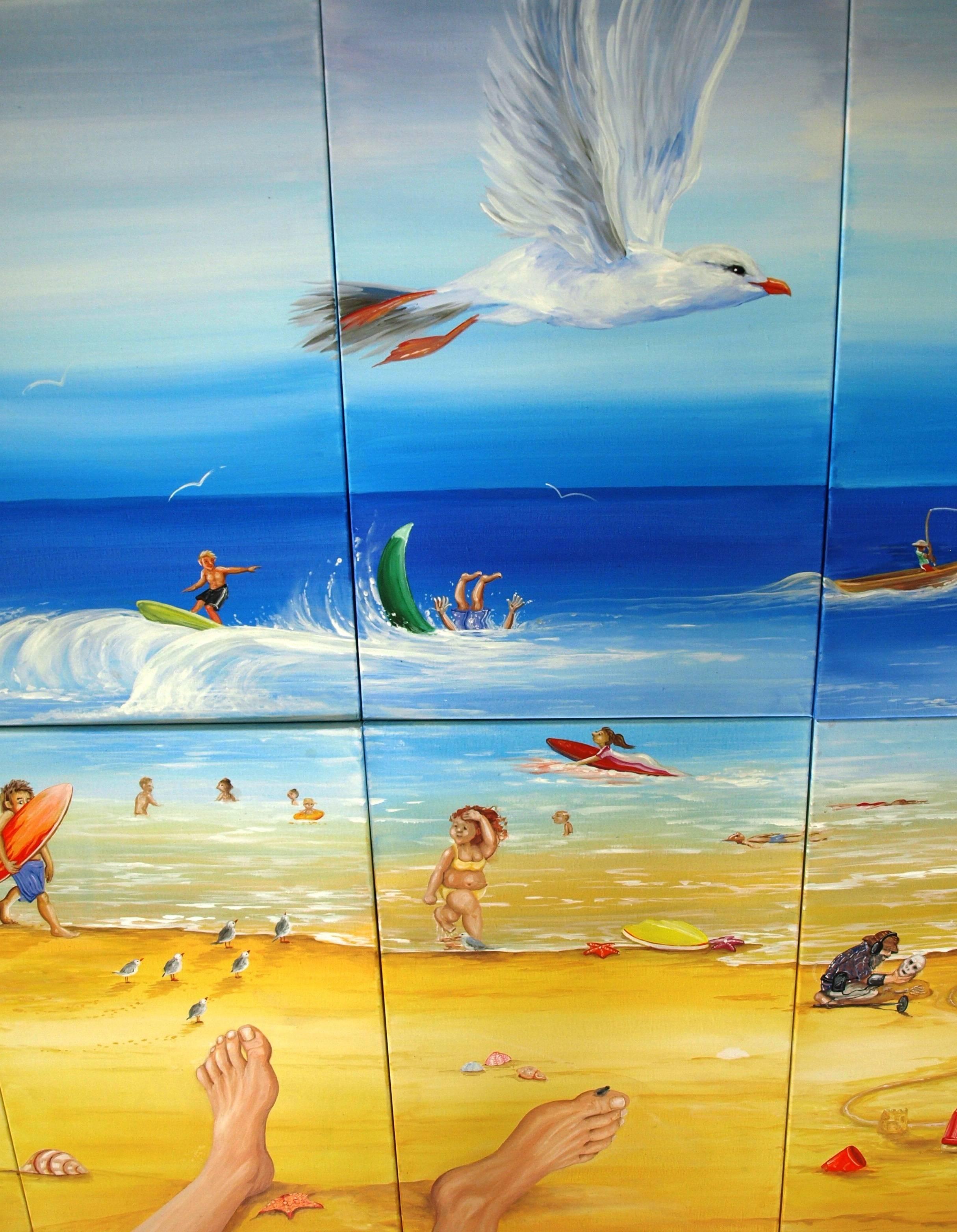 THE BEACH      detail