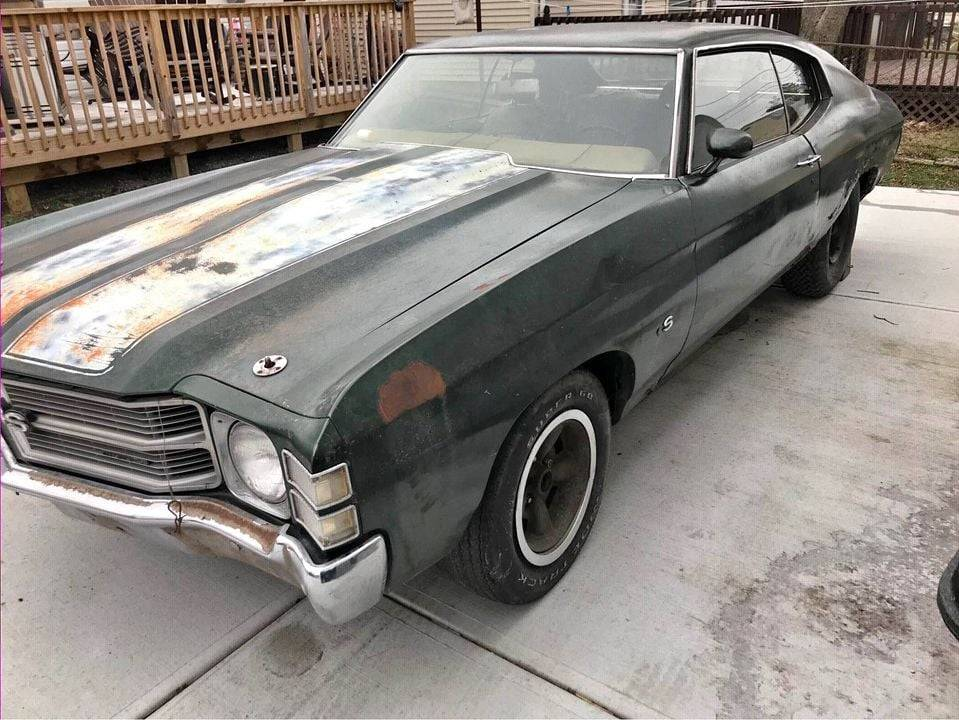 8.71 Chevy Chevelle SS,