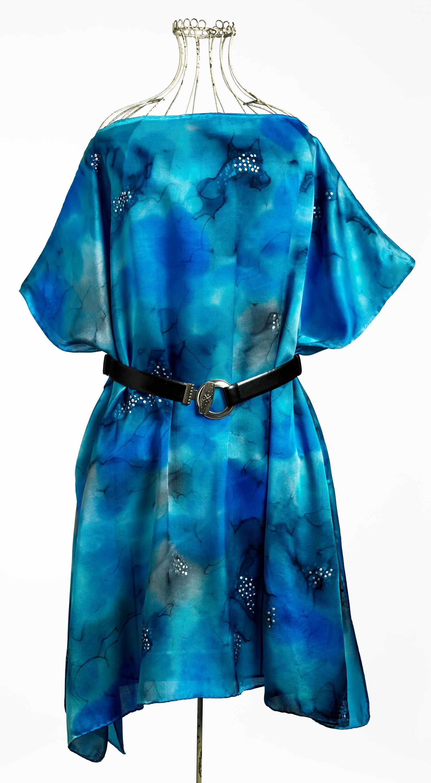 Silk Satin Tunic