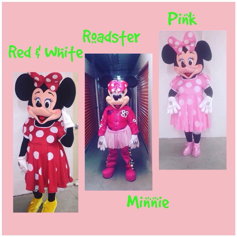 Red, Roadster & Pink Minnie