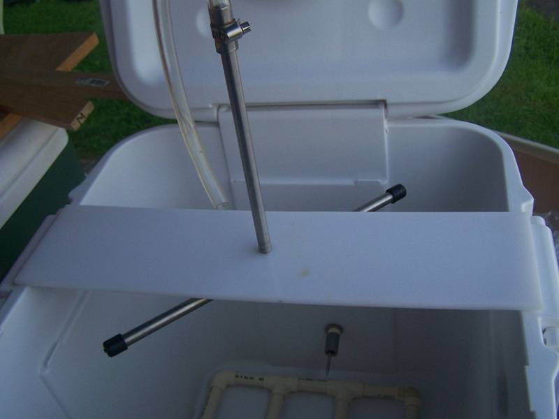 The Sparge Arm