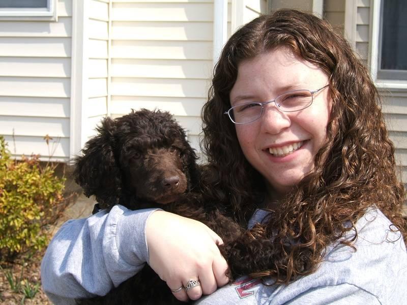 Penny at 9 weeks old. 3/25/06.