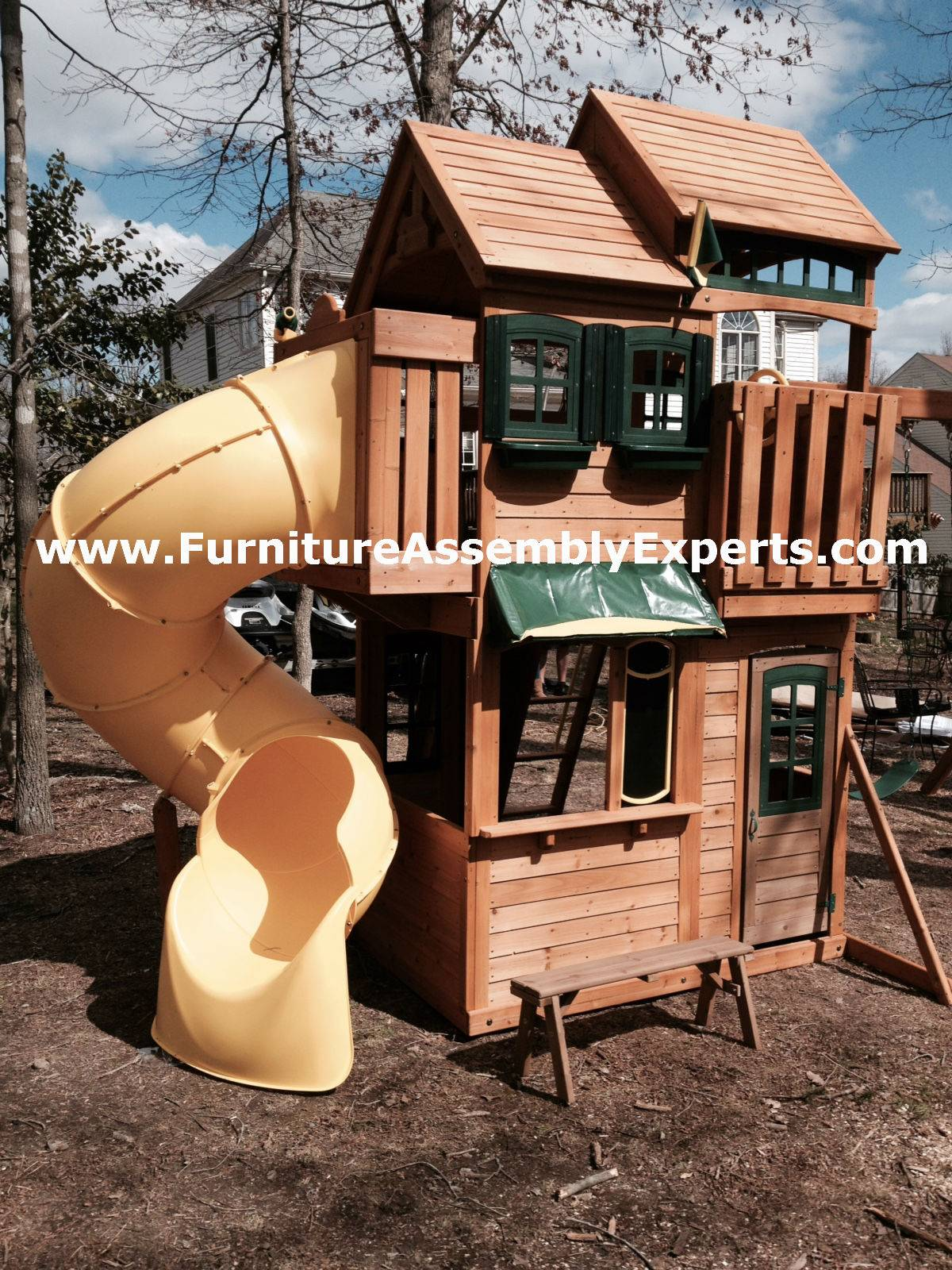 backyard playset assembly service in temple hills MD