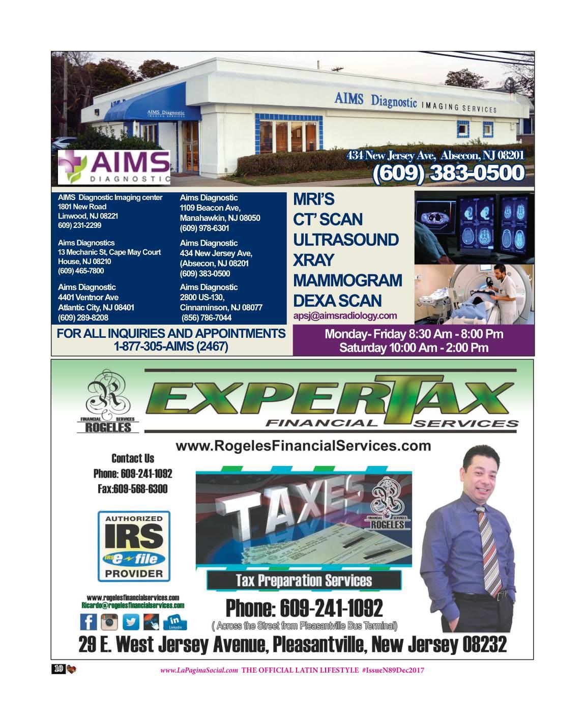AIMS DIAGNOSTIC / EXPERT TAX