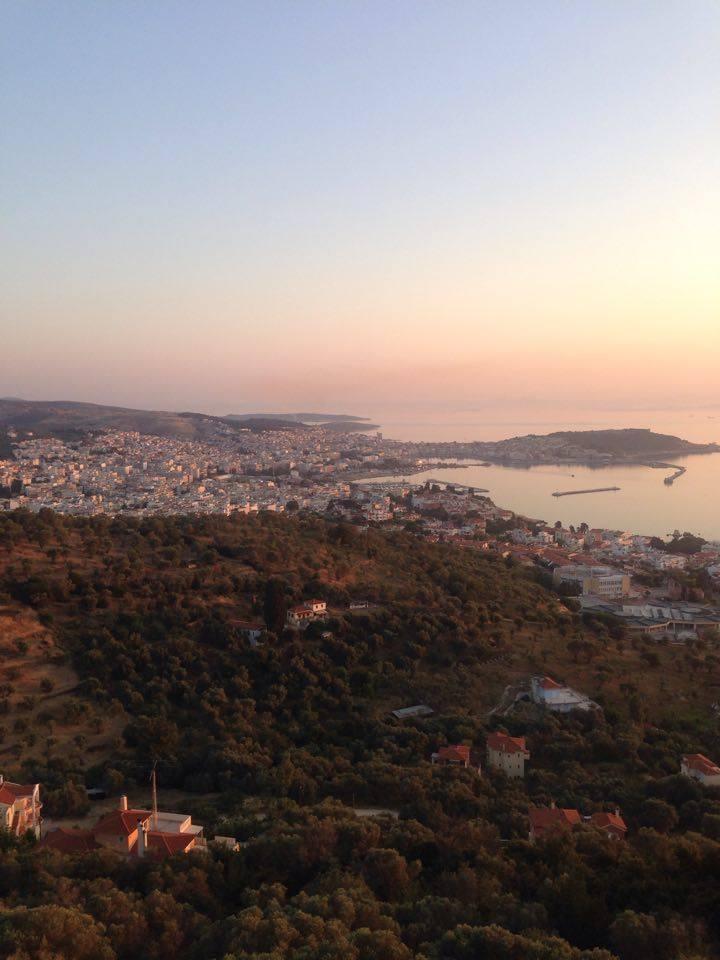 Mytilene sunrise light melody