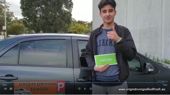 Pass First Time at Dandenong !! Well Done Nathan Seoud