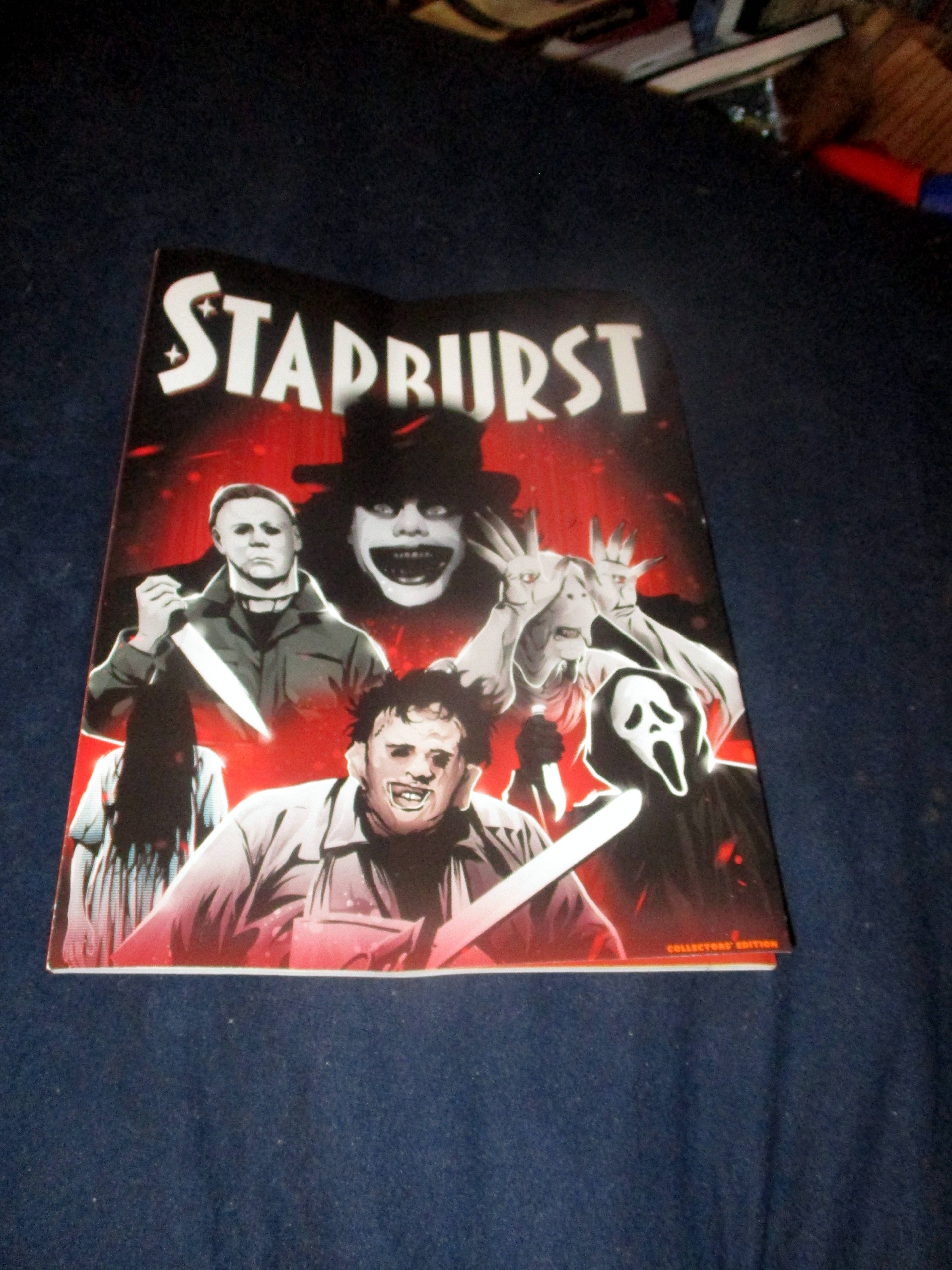 Front Cover of Starburst Magazine #474: Everyone's Entitled to One Good Scare Collectors' Edition at The Wombatorium 2.0: A Capital Idea