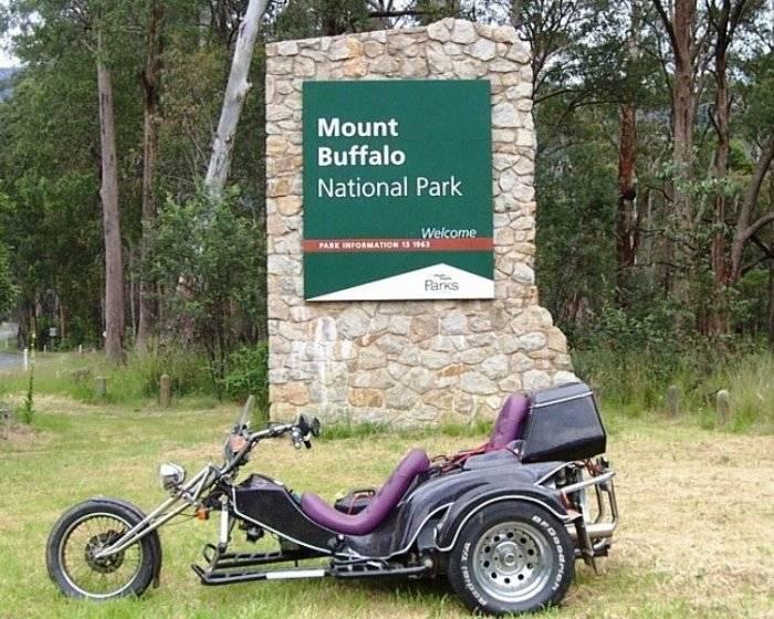 Tom's Trike  the Mount Buffalo - Nov 2005