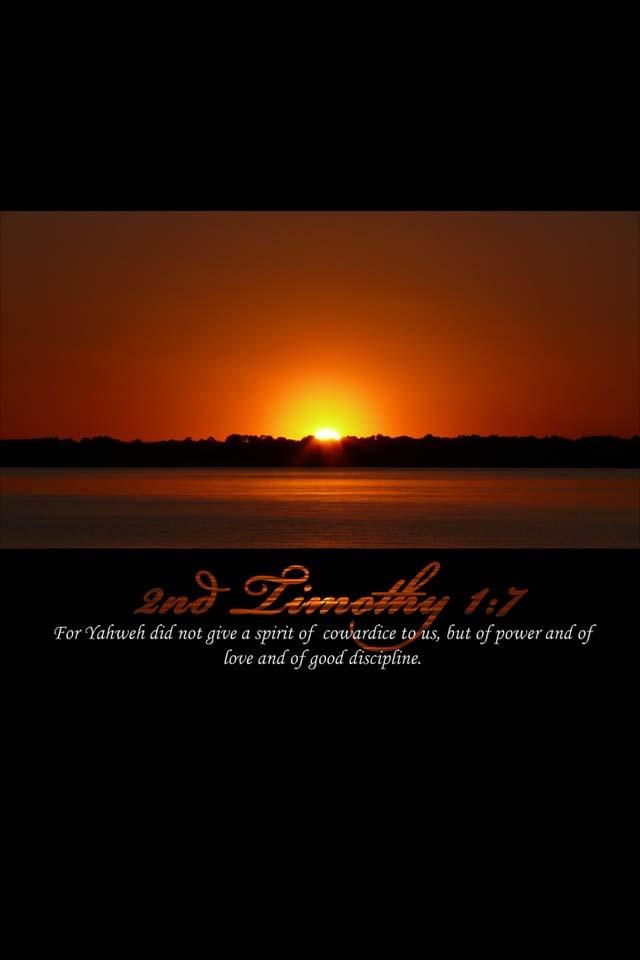 2nd Timothy 1:7