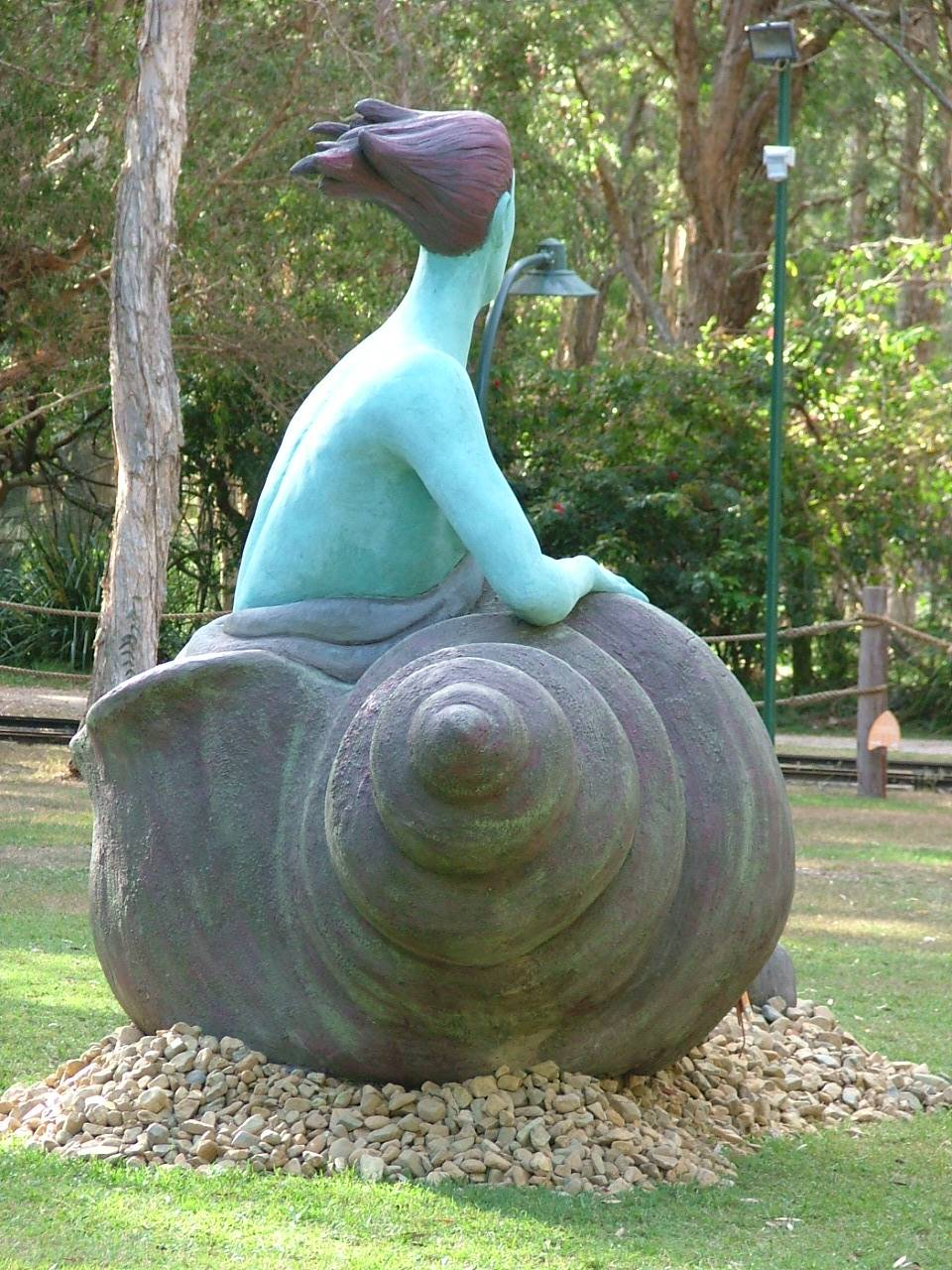 The Selkie in Currumbin Wildlife Sanctuary, Australia