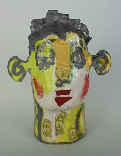 Mary Jones Ceramics.  Sitting pretty. SOLD
