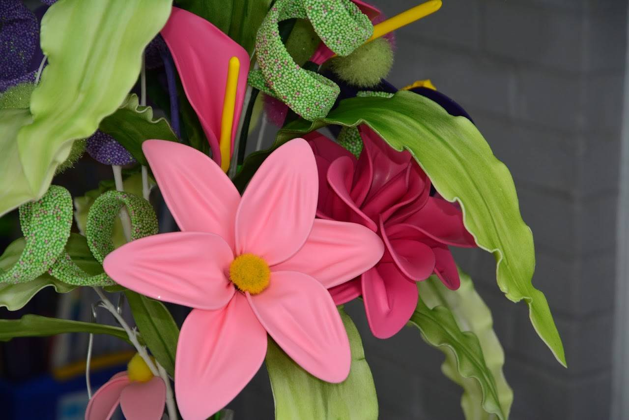 Fantasy Balloon Floral Arrangement