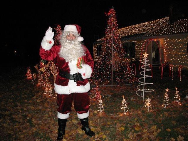 Santa made an appearance!