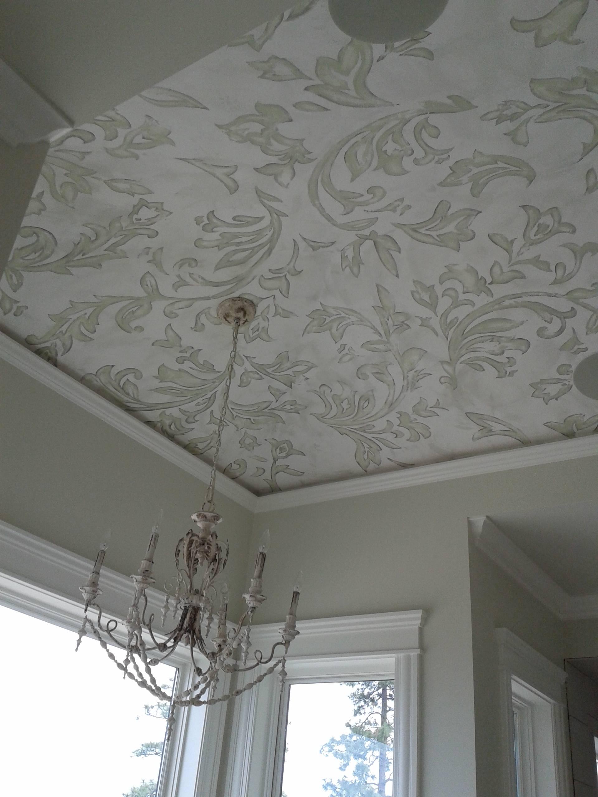 Fresco Ceiling - The Quarry Home