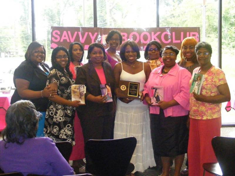The Ladies of Savvy Book Club & Author Victoria Christopher