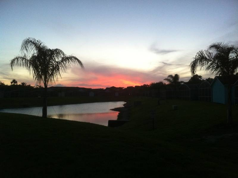 Sunset at the Reserve
