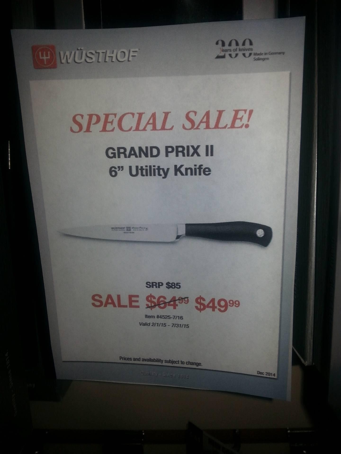 """Wusthof 6"""" Utility Knife"""