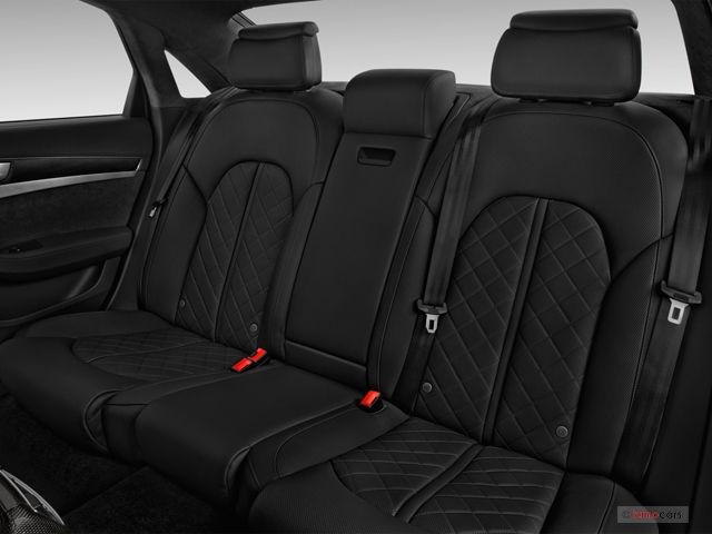 Audi A8 rear seat