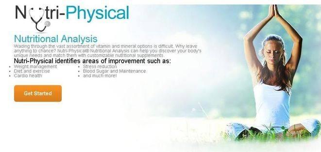 NUTRI-PHYSICAL NUTRITIONAL ANALYSIS