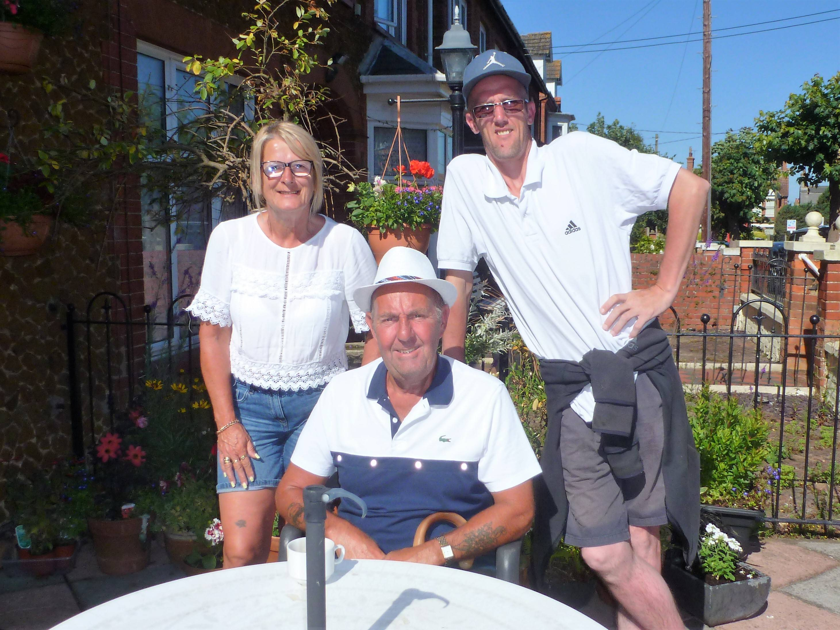 Rita, Glen & Shane