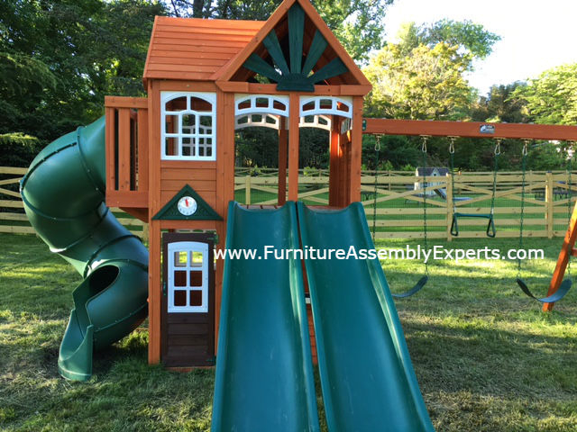 swing set installation service in suitland MD