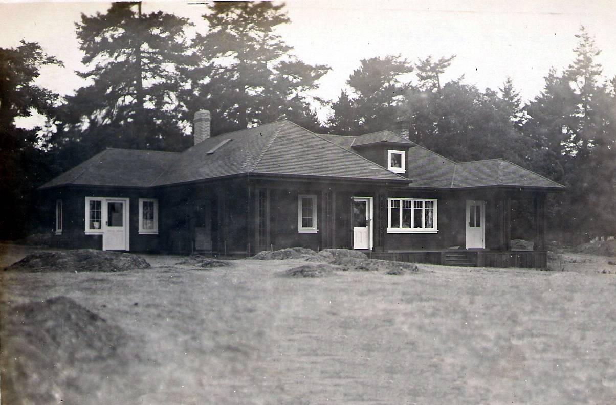 Captain Beaumont's house.