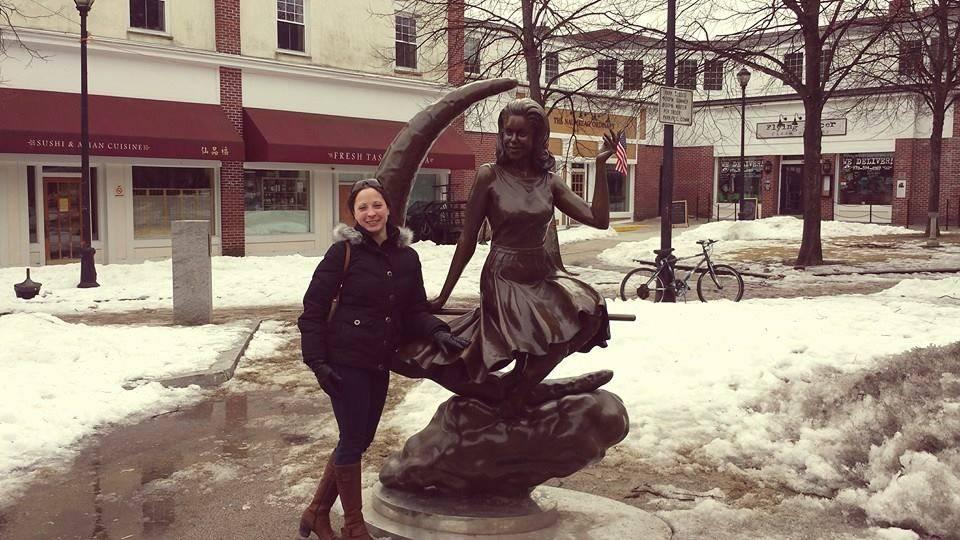 Lauren - Bewitched statue