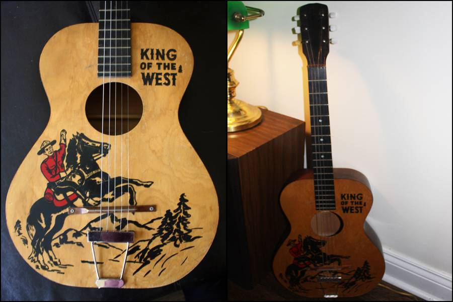 """""""King of the West"""" Mountie Guitar!"""
