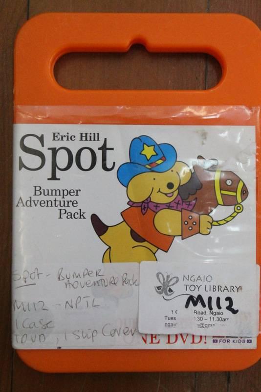 Spot. Bumper adventure pack DVD
