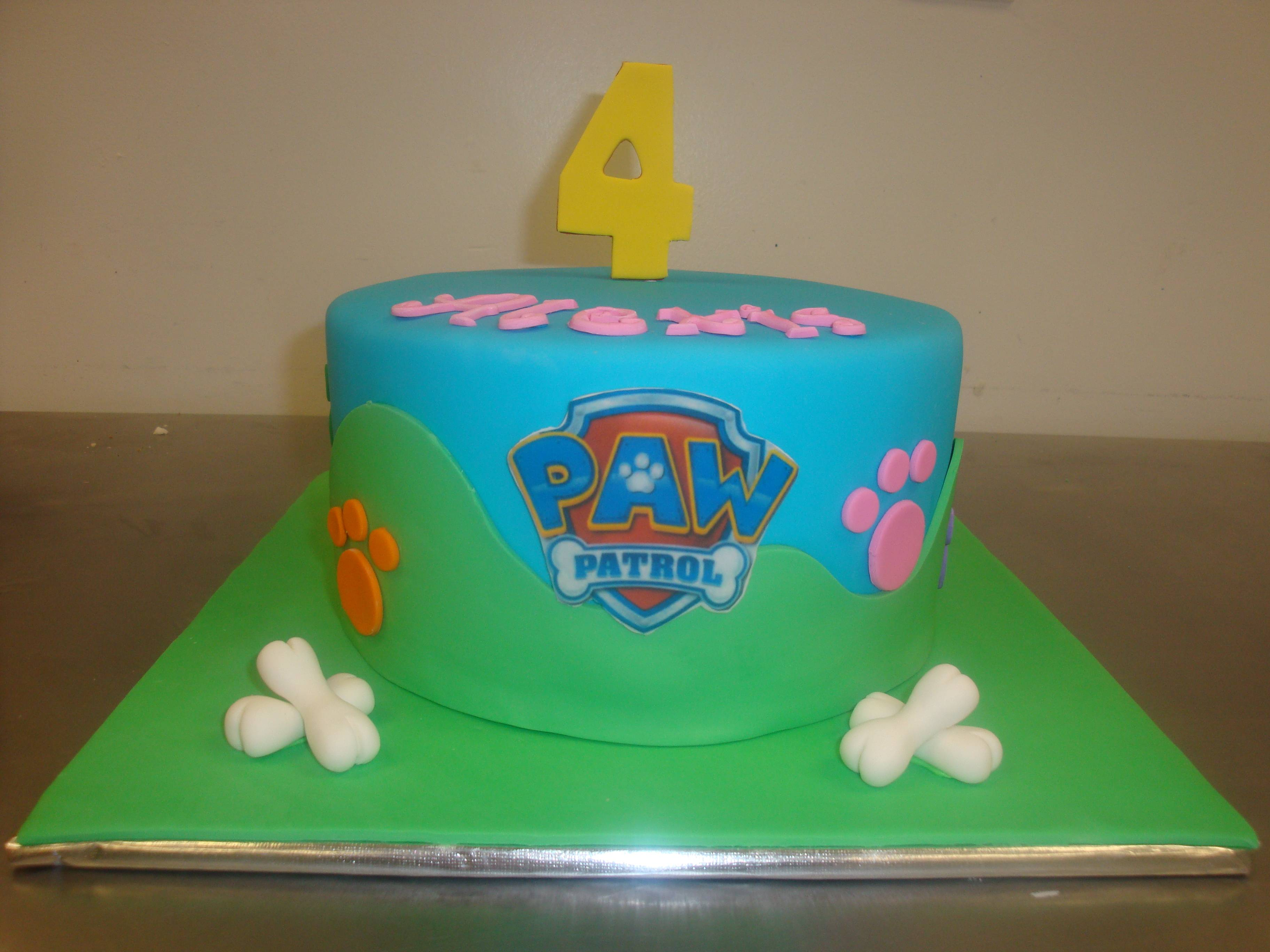 15 servings $125 with fondant covered board