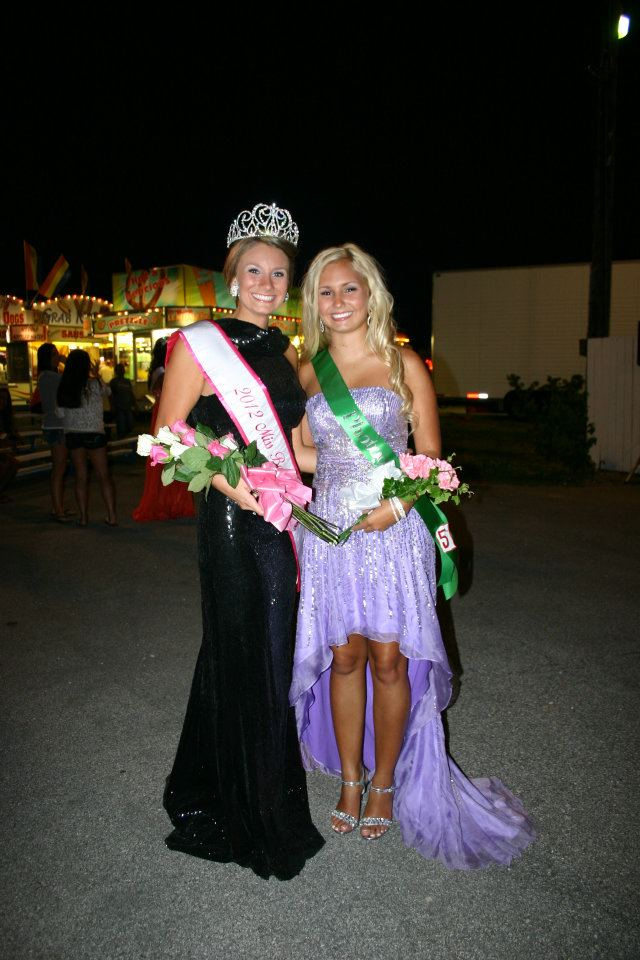 2012 Miss Bourbon County Erica Agnew