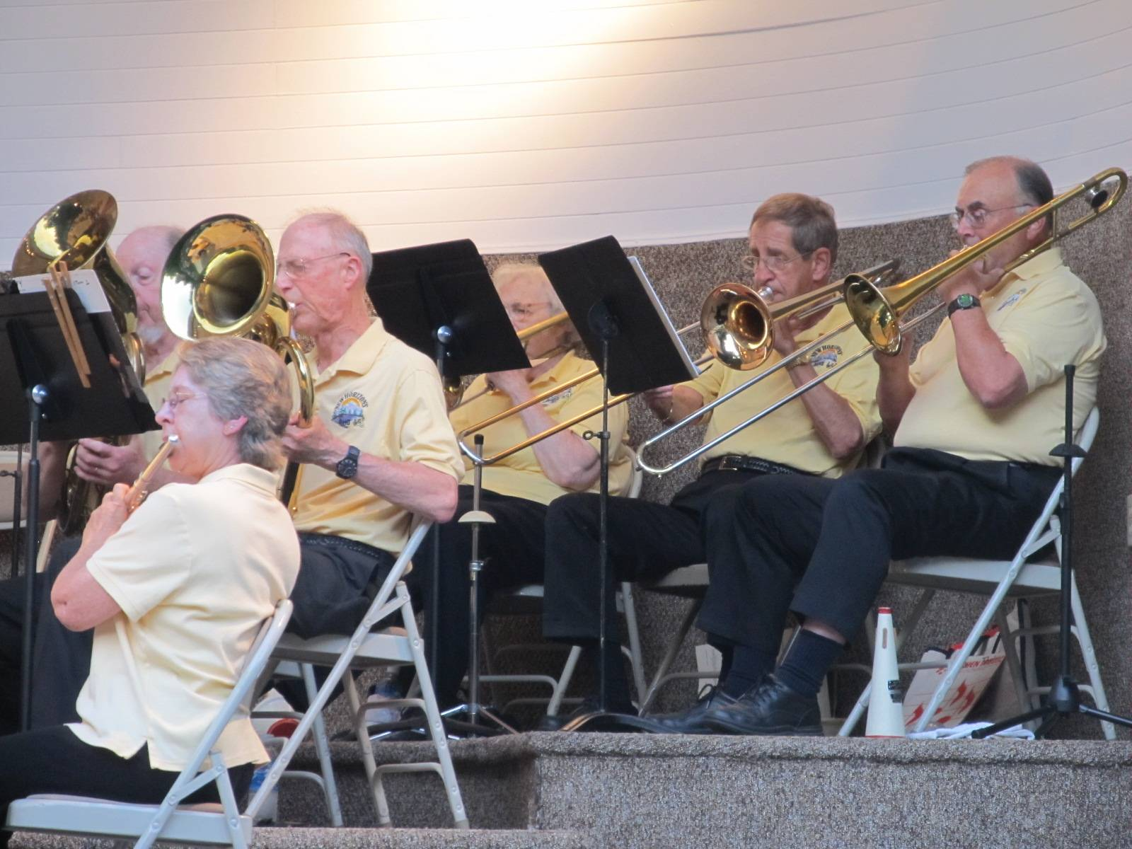 Baritone and Trombone Section